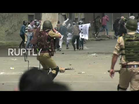 India: Clashes erupt in Kashmir during Eid celebrations