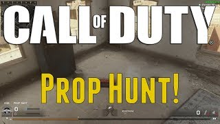 Call of Duty - Prop Hunt Funny Moments! (Trash Bag Spot and More Mannequins!)
