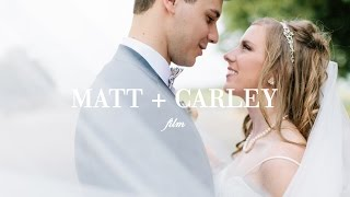 MATT + CARLEY WEDDING VIDEO AT NOAH'S EVENT VENUE