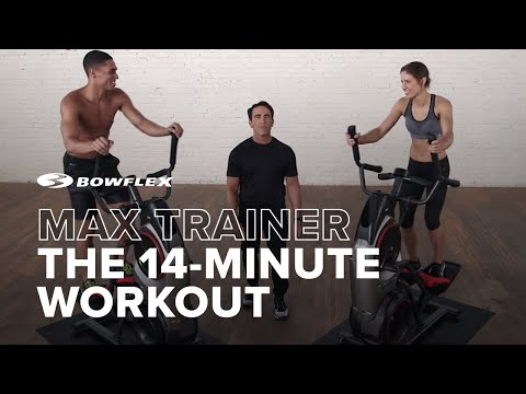 The 14 Minute Bowflex Max Trainer Workout: See the Max Trainer in Action!