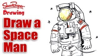 How to draw a Space Man