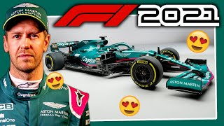 The 2021 Aston Martin F1 AMR21 is HERE! Vettel in Green! | Let's Talk F1 | aarava