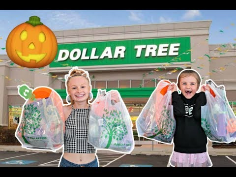 NO BUDGET DOLLAR TREE HALLOWEEN HAUL!! 👻🎃