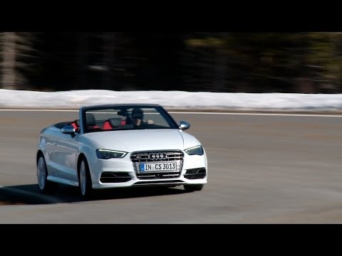 New Audi S3 Cabriolet Compact Convertible Quattro Test Review Autogefuhl