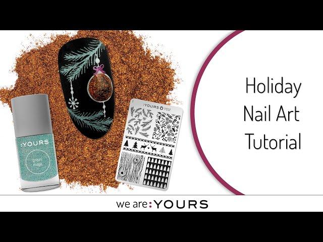 Holiday Nail Art Tutorial