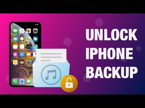 How to Unlock Your iPhone Backup Password