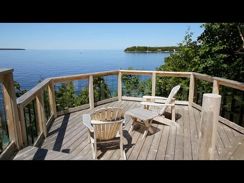 Sunset Getaway Cottage In Tobermory Ontario