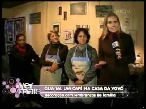 Café colonial com cara de casa da vovó em Curitiba    RIC Mais Paraná
