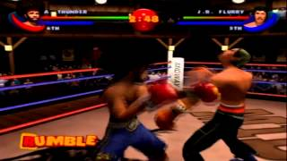 Ready 2 Rumble Boxing Round 2 - Afro Thunder Playthrough (No Commentary) (Hard Difficulty)