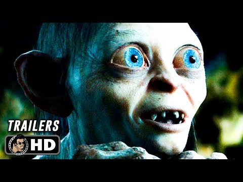 All THE LORD OF THE RINGS Trilogy Trailers (2001 - 2003) Peter Jackson