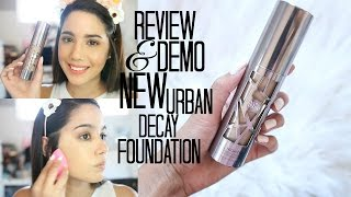 BRAND NEW | URBAN DECAY ALL NIGHTER FOUNDATION | HONEST REVIEW & DEMO
