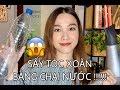 Thử Sấy Tóc Xoăn Bằng Chai Nhựa - CURLING HAIR WITH A WATER BOTTLE [ ENGsub ]