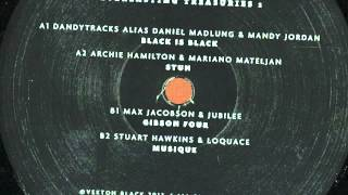 A1 Dandytracks alias Daniel Madlung & Mandy Jordan - Black Is Black / Vinyl Only [VEKTON BLACK 001]
