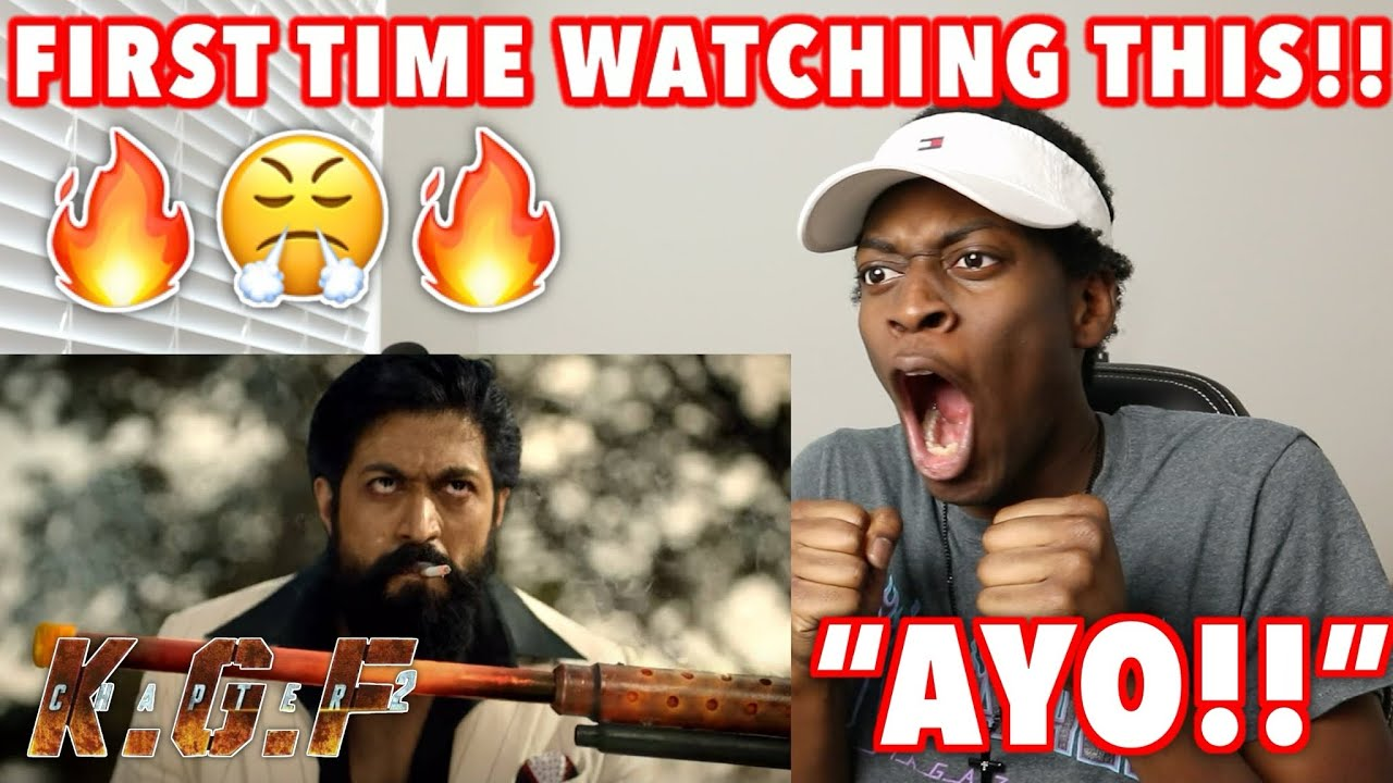 Download AMERICANS 1ST REACTION TO KGF CHAPTER 2 TEASER   Yash   Sanjay Dutt   Srinidhi Shetty [REACTION]
