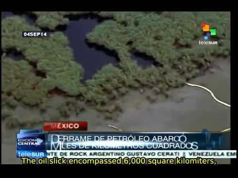 British Petroleum Oil Spill In The Largest In Recent History