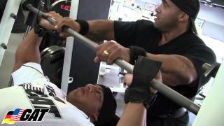 GAT athletes Big Ramy & Dennis James Train Chest