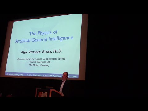 AGI-14 Keynote by Alex Wissner-Gross on the Physics of Artificial General Intelligence