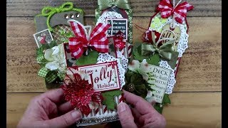 Quick & Easy Christmas Tags  Polly's Paper Studio Have a Jolly Holiday Printable Process DIY  Craft
