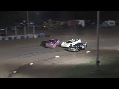 A Feature 1 (30 Laps): 16-Garrett Wiles, 13-Scott Baker, 55-Michael Archer, 25-Jimmy Gallagher, 78-Drew Wilkerson, 33-David Hilliker, 7L-Logan Love, ... - dirt track racing video image