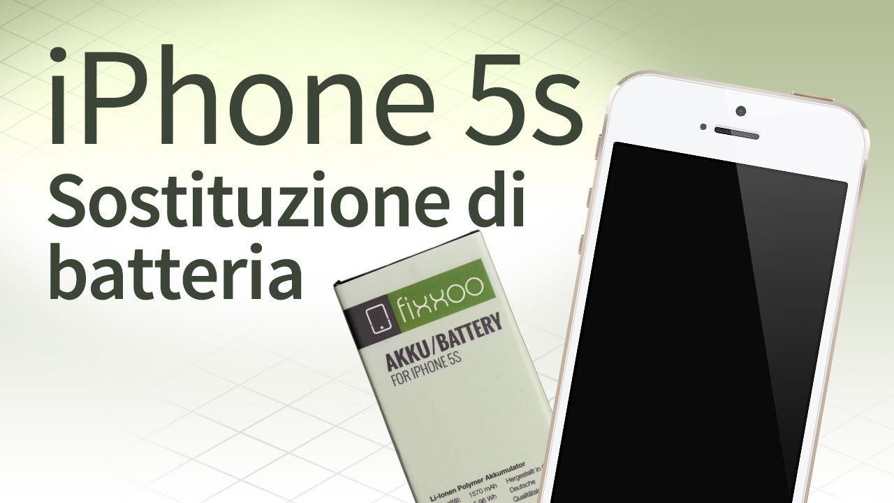 Iphone 5s Cambio Batteria Guida E Faq Youtube