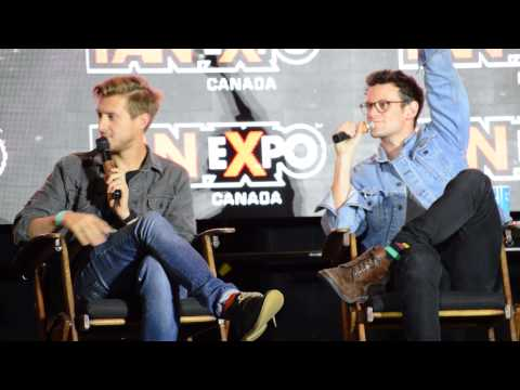 Doctor Who Panel with Arthur Darvill and Matt Smith Fan Expo 2014
