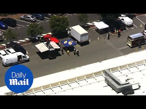 Aerial footage shows Menlo Park Facebook HQ after sarin exposure