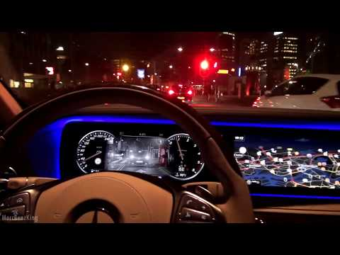 Driving the 2017 Mercedes S Class Long S350 AMG Night City Drive Review
