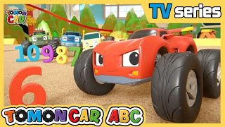 Tomoncar ABC Ep2|Hide and Seek With Numbers! Find the number that ran away | Tomoncar World
