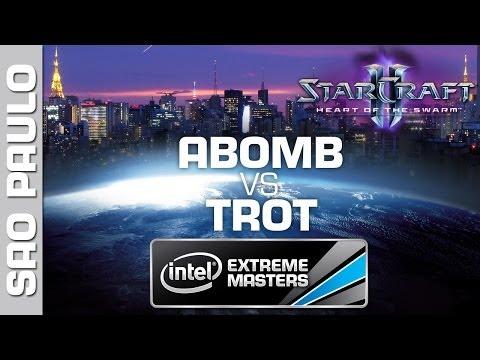 ABomB vs. trOt - Group D - IEM Sao Paulo - StarCraft 2