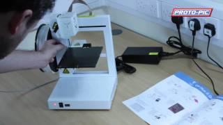UP Plus 2 3D Printer Unboxing