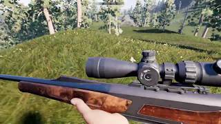 Hunting Simulator on PS4. First try campaign mode.