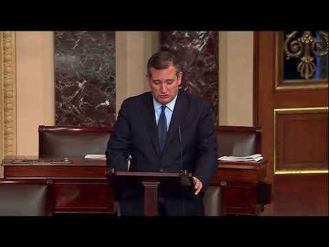 Sen. Cruz Speaks in Support of Justice Don Willett and Jim Ho for Fifth Circuit Court of Appeals