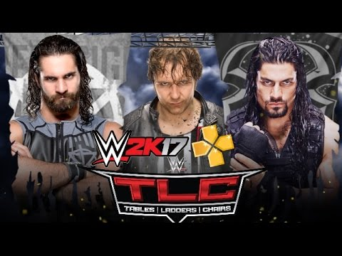 WWE 2K17 PSP - TLC - Shield Triple Threat Match