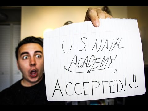 BEST DAY of my military career: Enlisted to U.S. Naval Academy?!