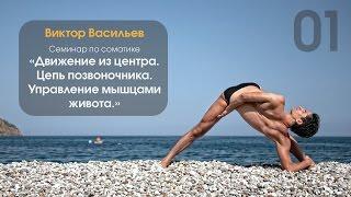 Фрагменты видео | Соматика «Движение из центра. Управление мышцами живота»(Полное видео можно скачать здесь: https://video.yoga.ua/video175.html https://video.yoga.ua/video176.html Видеозаписи семинара по соматиче..., 2015-03-20T10:29:31.000Z)