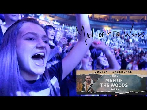 FATHER TAKES TEENAGE DAUGHTER TO JUSTIN TIMBERLAKE CONCERT | MAN OF THE WOODS TOUR