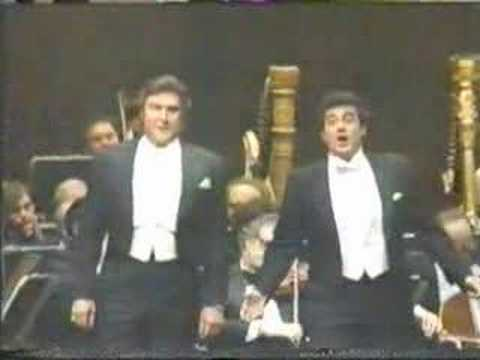 Placido Domingo & Sherrill Milnes sing duet Pearl Fishes