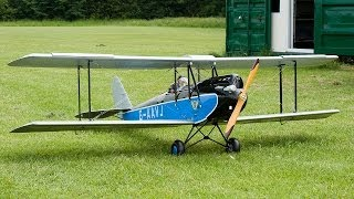 RC de Havilland 60G Gypsy Moth