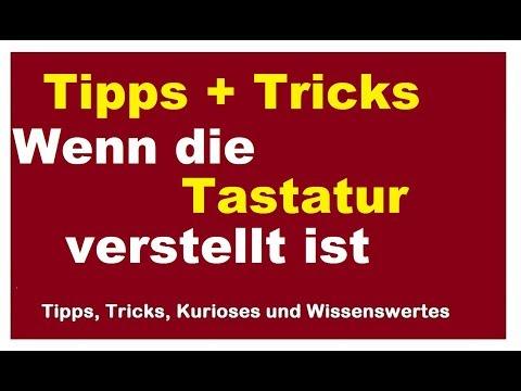 Tipps+Tricks PC Computer Tastatur Einstellungen Keyboard verstellt spinnt Text überschrieben Sprache
