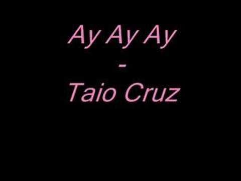 'Ay Ay Ay - Taio Cruz (prod. by Jiroca) [2008] rnb hotttt
