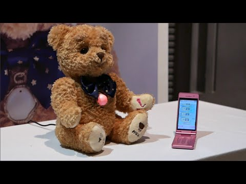 Kokokuma — a talking teddy bear for elderly people