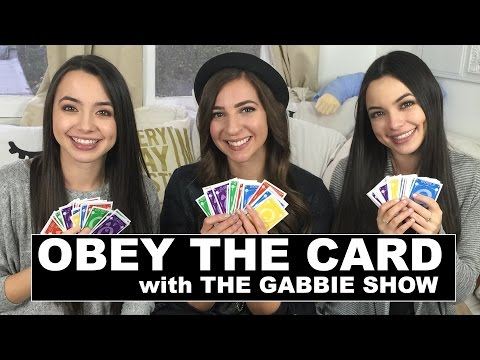 Obey the Cards challenge