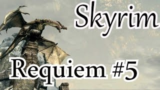 Skyrim Requiem. Норд. # 5 В Фолкрит!
