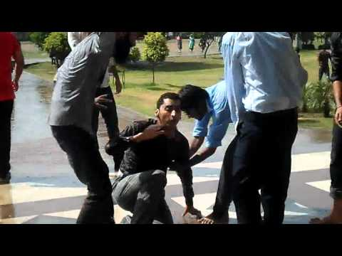UOG University Of Gujrat ( Mass Communication And Media Students ) Silent Cricket In UOG