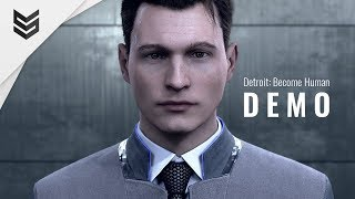 Все концовки демо Detroit: Become Human (PS4 Pro) 1440p