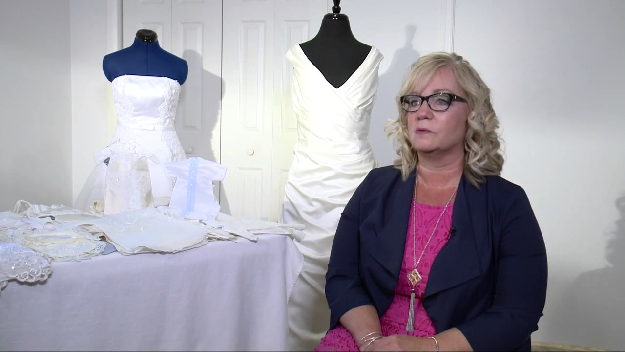Donate Wedding Dress.Strangers Donate Wedding Dresses For Infant Gowns