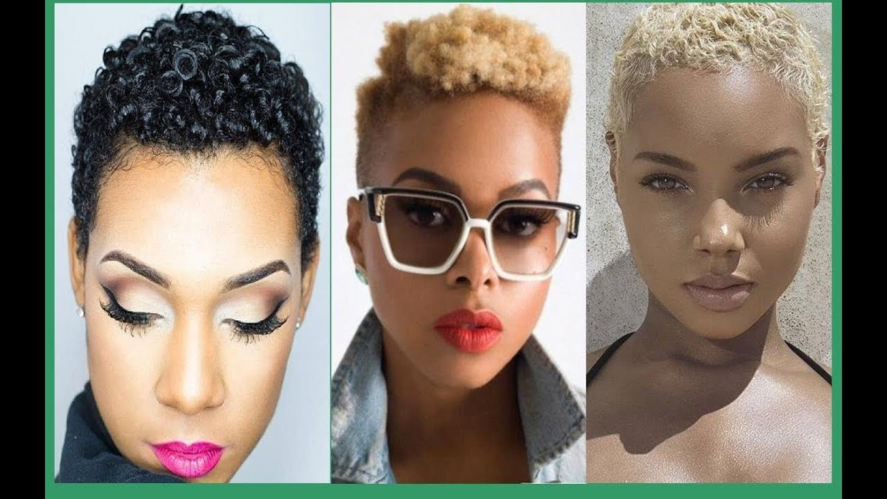 Short Haircut Hairstyles For Black Women 10/10 - Amazing African  American women short hairstyles
