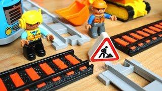 Машинки мультики про поезда: Перекресток - Мультфильм про машинки игрушки и паровозики