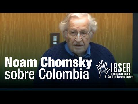 Colombia: Building Peace - Noam Chomsky