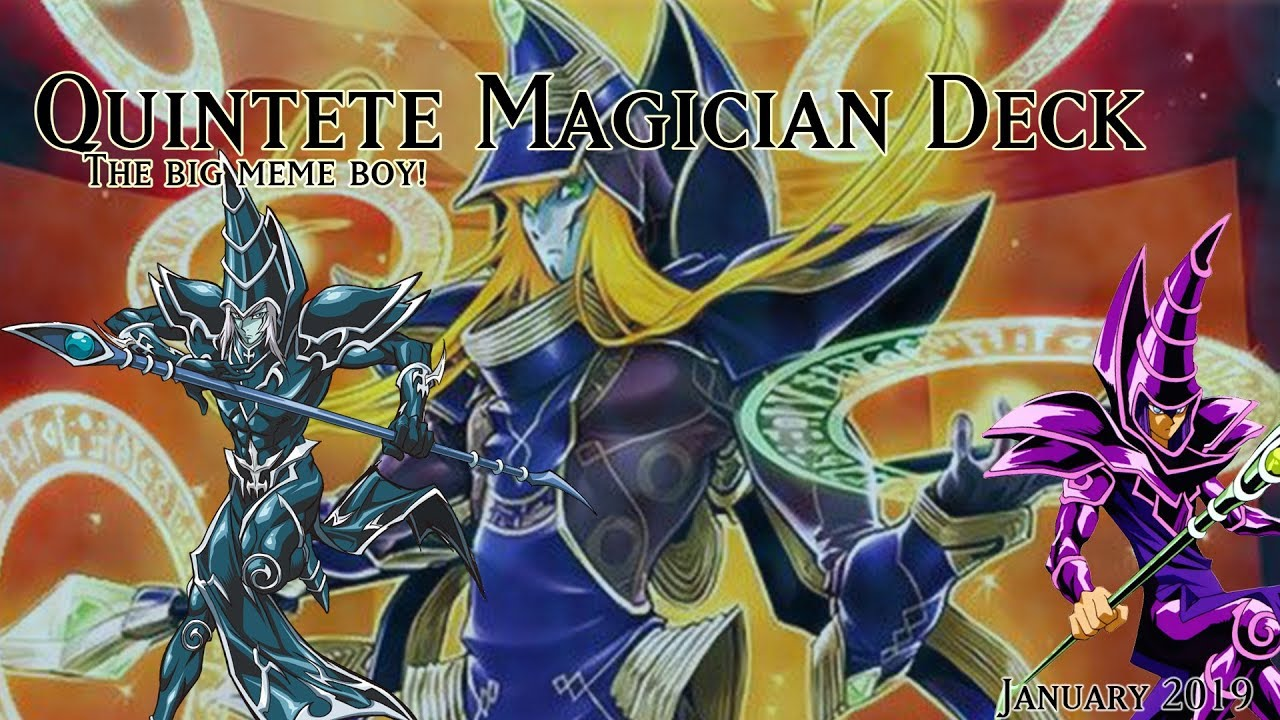 Yu Gi Oh Quintet Dark Magician Deck January 2019 It S The Magician From The Meme